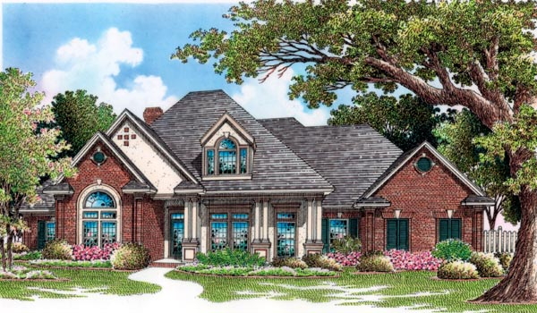 House Plan 65931 Elevation