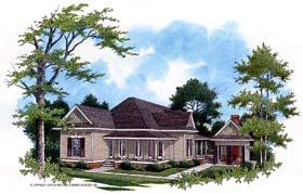 House Plan 65936 Elevation