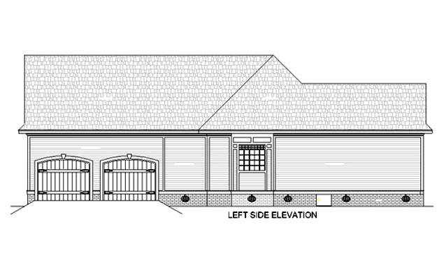 House Plan 65936 with 3 Beds, 3 Baths, 2 Car Garage Picture 1