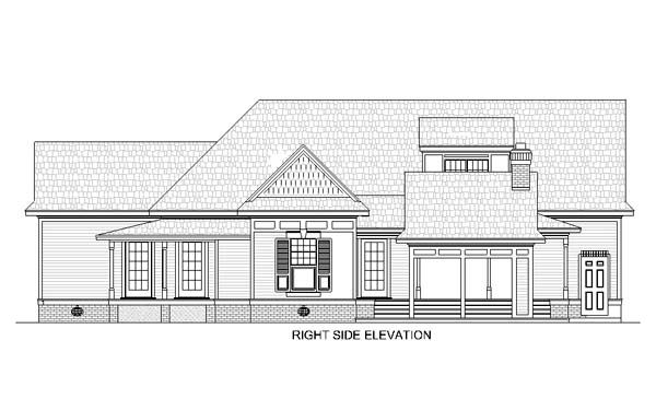 House Plan 65936 with 3 Beds, 3 Baths, 2 Car Garage Picture 2