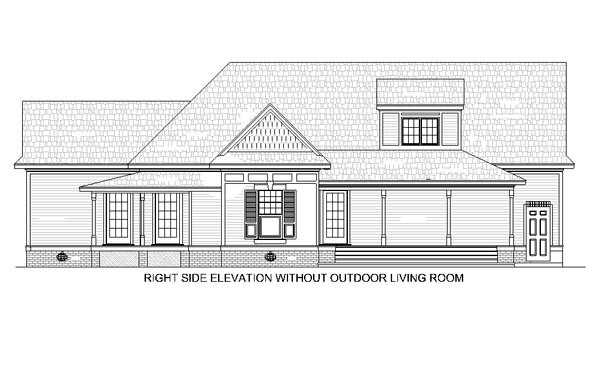 House Plan 65936 with 3 Beds, 3 Baths, 2 Car Garage Picture 3