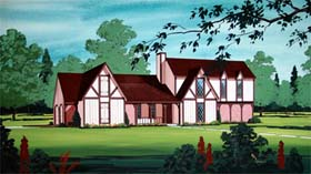 House Plan 65939 Elevation