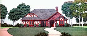 House Plan 65940 | Style Plan with 1946 Sq Ft, 3 Bedrooms, 2 Bathrooms, 2 Car Garage Elevation