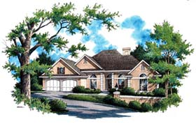 House Plan 65941 Elevation