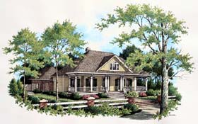 House Plan 65943 Elevation