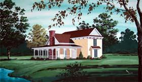 House Plan 65944 Elevation