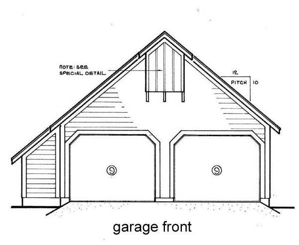 House Plan 65944 with 3 Beds, 3 Baths, 2 Car Garage Picture 1