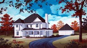 House Plan 65945 Elevation