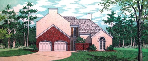House Plan 65949 Elevation