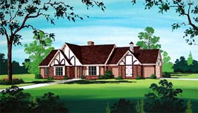 House Plan 65950 Elevation