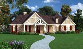 Traditional House Plan 65971 Elevation