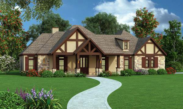 Traditional House Plan 65971