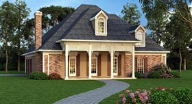 House Plan 65975 Elevation