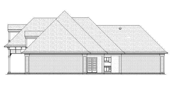 House Plan 65975 with 3 Beds, 2 Baths, 2 Car Garage Picture 2