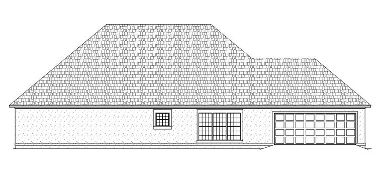 House Plan 65978 with 3 Beds, 2 Baths, 2 Car Garage Picture 1