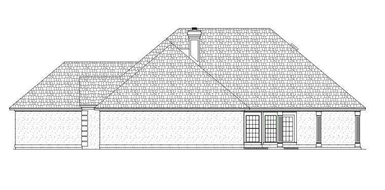 House Plan 65978 with 3 Beds, 2 Baths, 2 Car Garage Picture 2