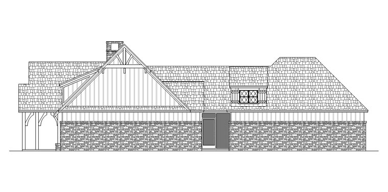 Craftsman House Plan 65979 with 3 Beds, 2 Baths, 2 Car Garage Picture 2