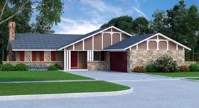 Tudor House Plan 65980 Elevation