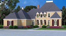 House Plan 65995 Elevation