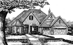 Tudor Victorian House Plan 66009 Elevation