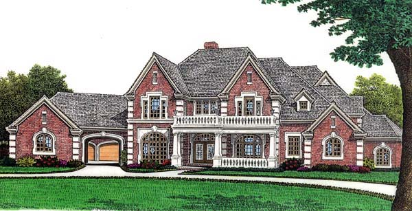 European French Country House Plan 66010 Elevation