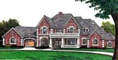 Plan Number 66010 - 5895 Square Feet