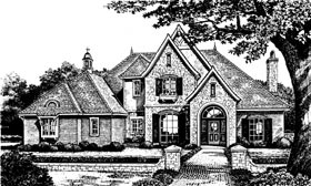 Plan Number 66034 - 3619 Square Feet