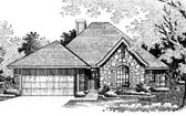 Plan Number 66044 - 1573 Square Feet