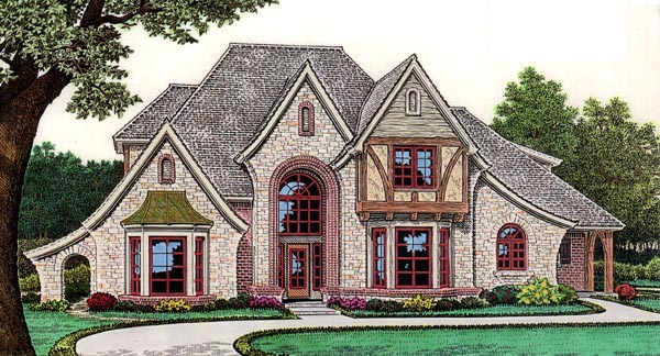 House Plan 66060 Elevation