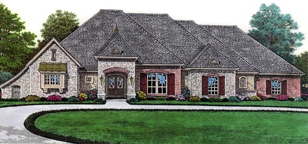 House Plan 66061 Elevation