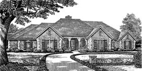 Traditional House Plan 66078 Elevation