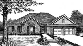 Traditional House Plan 66083 Elevation