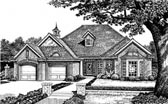 Plan Number 66084 - 1907 Square Feet