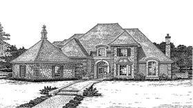 Plan Number 66085 - 4451 Square Feet