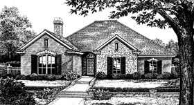 Traditional House Plan 66101 Elevation