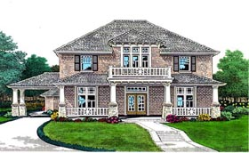 Plan Number 66104 - 3270 Square Feet