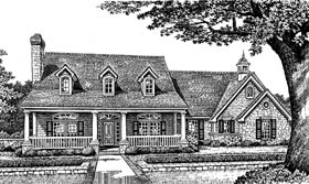Country Southern House Plan 66105 Elevation
