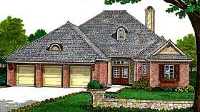 House Plan 66120 Elevation