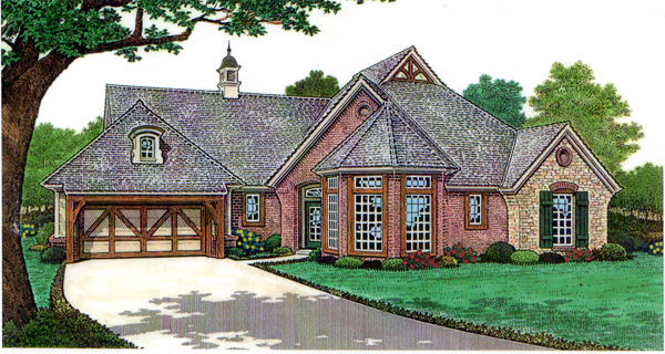 House Plan 66126 Elevation