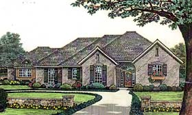 House Plan 66127 Elevation