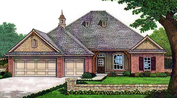 House Plan 66128 Elevation