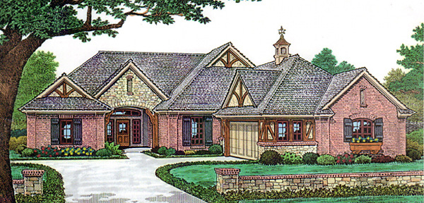 House Plan 66129 Elevation