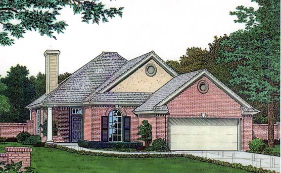 House Plan 66130 Elevation