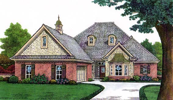 House Plan 66131 Elevation
