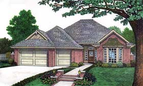 House Plan 66133 Elevation