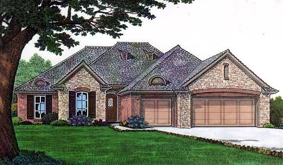 House Plan 66136 Elevation
