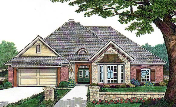 House Plan 66138 Elevation
