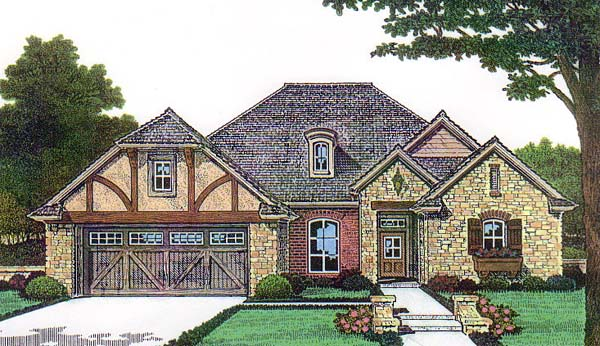 House Plan 66139 Elevation