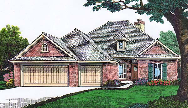 House Plan 66141 Elevation