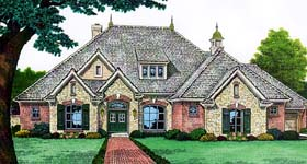 Traditional House Plan 66143 Elevation